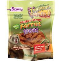 "Куриная ""стружка"" натуральная FM Brown Natural Chicken Strip Ferret Treat"