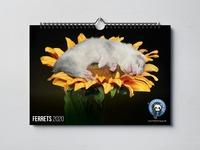 Настенный календарь Frettchen4You XXL 2020 год