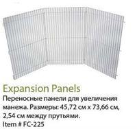 Переносные панели для увеличения манежа Prevue Playpen - Mat Combo 3 Panel